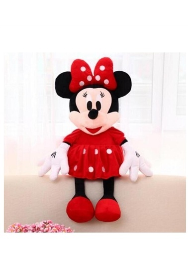Vardem Disney'in En Renkli Sevimli Kahramanı Peluş Minnie Mouse - 70 cm Kırmızı